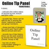 *AQF* Online Tip Panel [Trans]