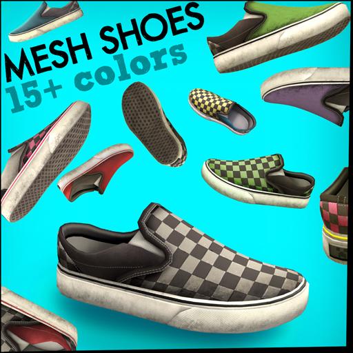 Slip-ons - Mesh Shoes