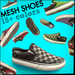 Slip-ons - Mesh Shoes