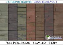 Terrain Textures: Wood Floor Vol. 1 - Full Permissions