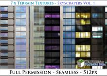 Terrain Textures: Skyscrapers Vol. 1 - Full Permissions