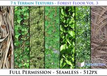 Terrain Textures: Forest Floor Vol. 3 - Full Permissions