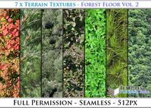 Terrain Textures: Forest Floor Vol. 2 - Full Permissions