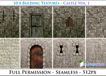 Building Textures: Castle Vol. 1 - Full Permissions