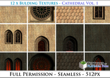 Building Textures: Cathedral Vol. 1 - Full Permissions