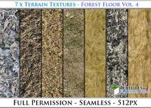 Terrain Textures: Forest Floor Vol. 4 - Full Permissions
