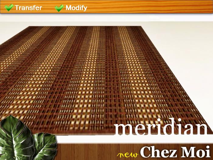 Tapete Meridian ♥ CHEZ MOI