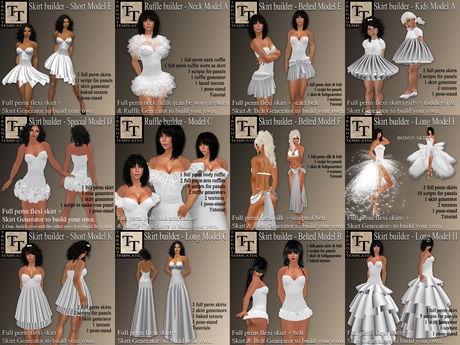 .:TT:. Skirt & Ruffle Generator All Models DEMO