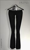 KIM-Classic Pants- Black