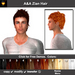 A&A Zian Hair Bigpack, men's short hairstyle.