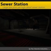 [FYI] Mesh Underground Sewer Processing Station for FYI Sewer Tunnel Kits
