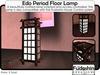 Fudoshin Edo Floor Lamp