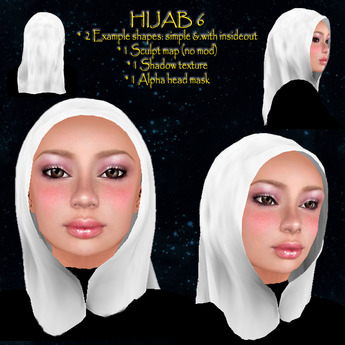 Hijab model 6 free - dollarbie so you can gift it!