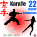 !!! PROMO !!!  KARATE MOCAP ANIMATIONS * 21 Copy & Modify animations pack  * 50% DISCOUNT - LIMITED TIME
