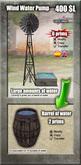Wind water pump. [G&S]