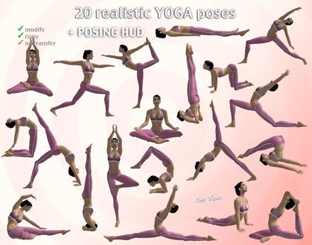 second life marketplace  voir  20 yoga poses
