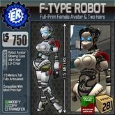 ER F-Type Robot Avatar
