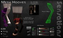 Sensations Mesh Hooves