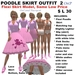 OnP Poodle Skirt Outfit