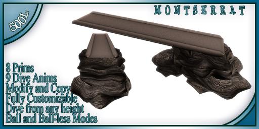 WaterWorks - Montserrat Diving Board