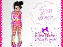 {mimi}.:: Kawaii Bunny Set ::. Dollarbie Kids Clothing Child