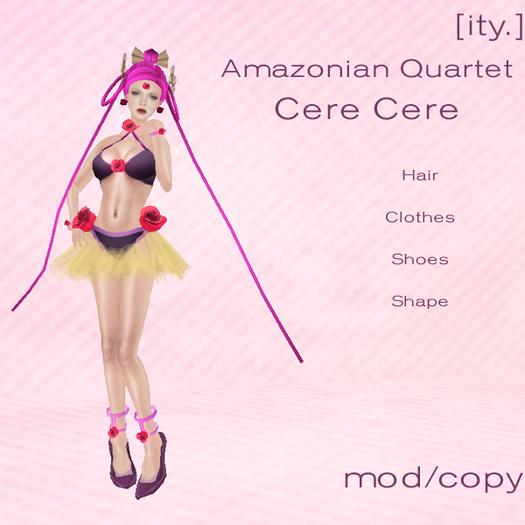 [ity.] Amazonian Quartet Cere Cere Sailor Moon Villain Avatar