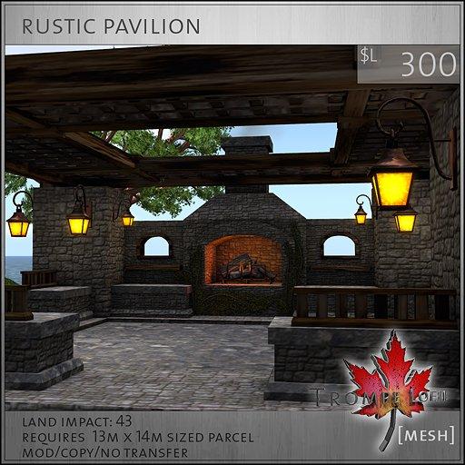 Trompe Loeil - Rustic Pavilion [mesh]