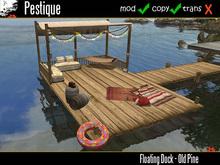 Floating Dock - Old Pine