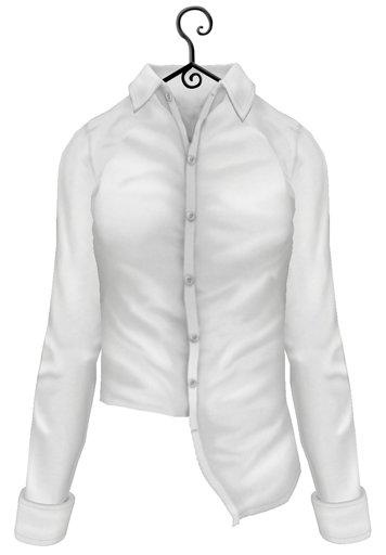 Schadenfreude White Oxford Shirt
