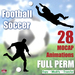 FOOTBALL / SOCCER MOCAP ANIMATIONS * 28 FULL PERMISSION for Builders/Resellers - 10-22 seconds * 50% LIMITED TIME