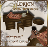 LORIEN SEWING FURNITURE SET