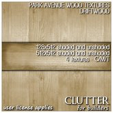 Clutter for Builders - Park Avenue Wood Textures Driftwood