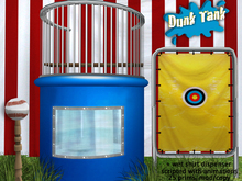 Animated Dunk Tank (with wet t-shirt dispenser)