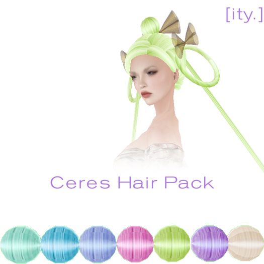 [ity.] Ceres Hair Pack