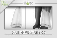 Sculpted pant cuffs PC2 Full permission