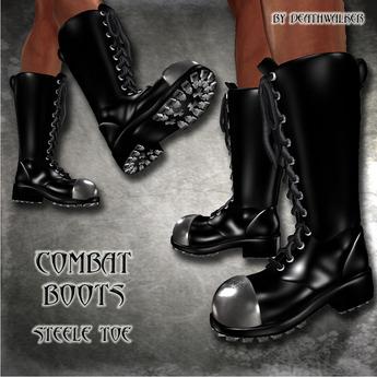 Combat Boots Steel Toe