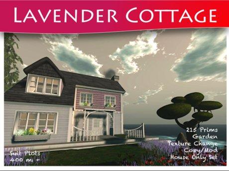 Moco Emporium -  Lavender Cottage [Texture Change COPY/MODIFY]