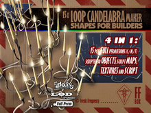 [FFBox] 15x Loop Candelabra Maker Set {Full Perm} for Builders