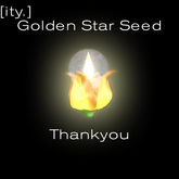[ity.] Thankyou Gift : Golden Star Seed
