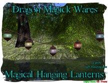 Dragon Magick Wares Magical Hanging Lanterns