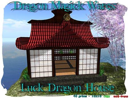 Dragon Magick Wares Luck Dragon House