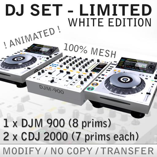 Dj Set Limited White edition DJM 900 + CDJ 2000