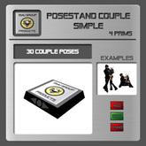 EMU *PROMO* Posestand Couple Simple - 30 Poses