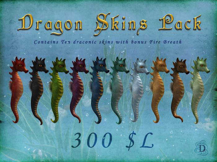 Seahorse - Dragon Skins Pack
