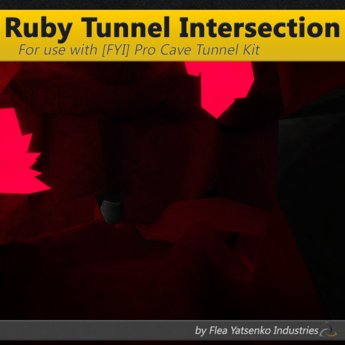 [FYI] Blood Ruby Crystal Cave Tunnel Intersection 1.0.0 (cm)