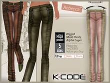 K-CODE REBECCA5 Rigged Mesh Pants