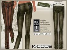 K-CODE REBECCA8 Rigged Mesh Pants