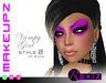 ROXIZ... MAKEUPZ > Vampy Girl Style 2 in Pink