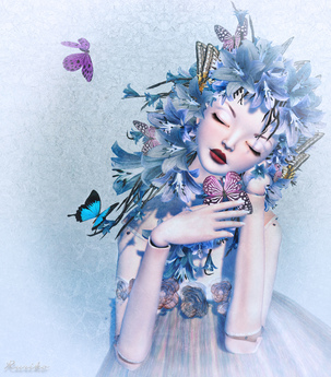 Boudoir -Flower Hair