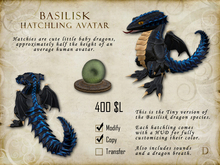 Basilisk Hatchling - Tiny Dragon Avatar